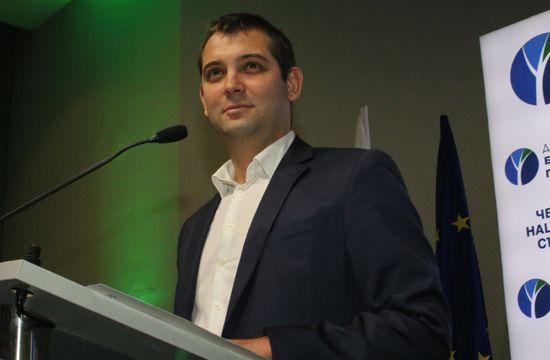 Реч на новия председател на ДБГ Димитър Делчев